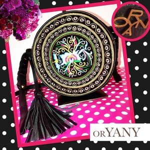 ORYANY Authentic NWOT Embroidered Canteen Purse